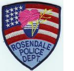 Rosendale Police Dept Patch